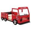 Hokku Designs Fire Engine Twin Car Bed