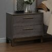 Hokku Designs Benito 2 Drawer Nightstand
