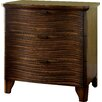 Hokku Designs Joaquin 2 Drawer Nightstand