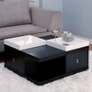 Hokku Designs Coffee Table with Tray Top