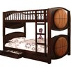 Hokku Designs All-star Twin Bunk Bed with Storage