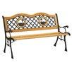 Hokku Designs Trumpeter Outdoor Garden Bench