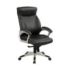 Hokku Designs Lukkas High-Back Office Chair with Casters
