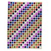Hokku Designs Smarties Hand-Knotted White Area Rug