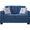 Hokku Designs Urban Valor Tufted Loveseat