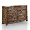 Hokku Designs Crusoe 6 Drawer Dresser