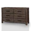 Hokku Designs Bernstein 6 Drawer Dresser