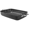 """Range Kleen Starfrit the Rock™ 17"""" Roaster with Rack and Handle"""