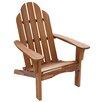 String Light Company Wood Adirondack Chair