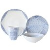 Over and Back Waterfall 16 Piece Dinnerware Set