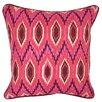 Kosas Home Pavone Linen Throw Pillow