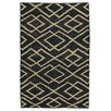 Kosas Home Athena Soumak Black/Bleach Indoor/Outdoor Area Rug