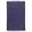 Kosas Home Amelia Flat Weave Purple Indoor/Outdoor Area Rug