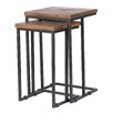 Brayden Studio Lineberger 2 Piece Nesting Table Set