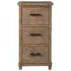 Kosas Home Quincy 3-Drawer Filing Cabinet