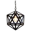 Harrison Lane Polyhedron 1 Light Mini Pendant