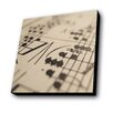 Lamp-In-A-Box Sheet Music Painting Print Plaque