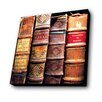 Lamp-In-A-Box Old Books Graphic Art Plaque