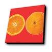 Lamp-In-A-Box Oranges Graphic Art Plaque