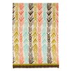 Sarah Watts Feather Ikat Kitchen Towel