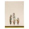 Sarah Watts 3 Feathers Kitchen Towel