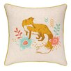 Sarah Watts Fox Park Printed Reversible Throw Pillow