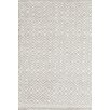 Bunny Williams for Dash and Albert Annabelle Grey Diamond Indoor/Outdoor Area Rug