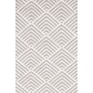 Bunny Williams for Dash and Albert Cleo Grey / Ivory Cement Graphic Indoor / Outdoor Area Rug