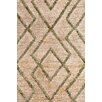 Bunny Williams for Dash and Albert Marco Moss Cut-pile Cream Area Rug