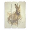 Art Marketing March Hare by Adelene Fletcher Art Print on Canvas
