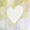 Little Crown Interiors Wood Wall Heart Canvas Art