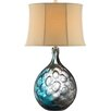 "Stein World Aura 32"" H Table Lamp with Bell Shade"