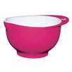 Kitchen Craft Colourworks Pink Melamine Two Tone Mixing Bowl