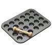 Kitchen Craft Master Class 2 Piece Non-Stick 24 Hole Mini Pan Set
