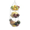 Kitchen Craft 3 Tier Hanging Vegetable and Fruit Basket