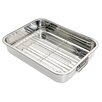 Kitchen Craft Stainless Steel Roasting Pan with Rack