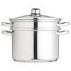 Kitchen Craft Clearview 7.5L Stainless Steel Multi Cooker