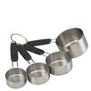 Kitchen Craft Professional Stainless Steel Four Piece Measuring Cup Set