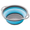 Kitchen Craft Colourworks Collapsible Colander in Blue