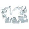 Kitchen Craft Cookie Cutters in Welsh Dragon Shape (Set of 36)