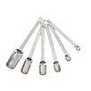 Kitchen Craft Stainless Steel 6 Piece Measuring Spoon Set