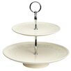 Kitchen Craft Ceramic 2 Tier Cake Stand