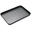 Kitchen Craft Master Class Non-Stick Loose Base Fluted Rectangular Flan / Quiche