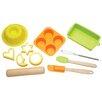 Kitchen Craft 11 Piece Let's Make Childrens Silicone Bakeware Set
