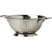 Kitchen Craft Stainless Steel Twin Wire Handled Colander in Satin