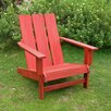 International Caravan Royal Tahiti Square Back Adirondack Chair