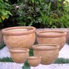 5-Piece Ceramic Pot Planter Set - International Caravan Planters