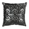 Blazing Needles Paisley Scaled Cotton Throw Pillow
