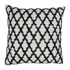 Blazing Needles Moroccan Patterned Cotton Throw Pillow
