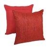 Blazing Needles Throw Pillow (Set of 2)